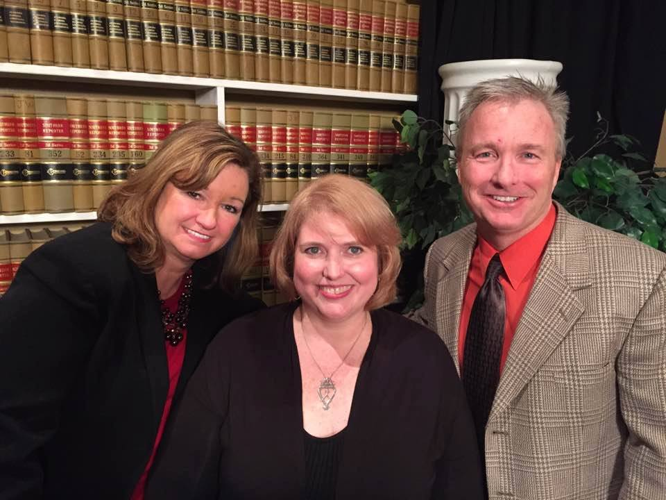 photo of attorney anne lamkin durward on legal speak television show