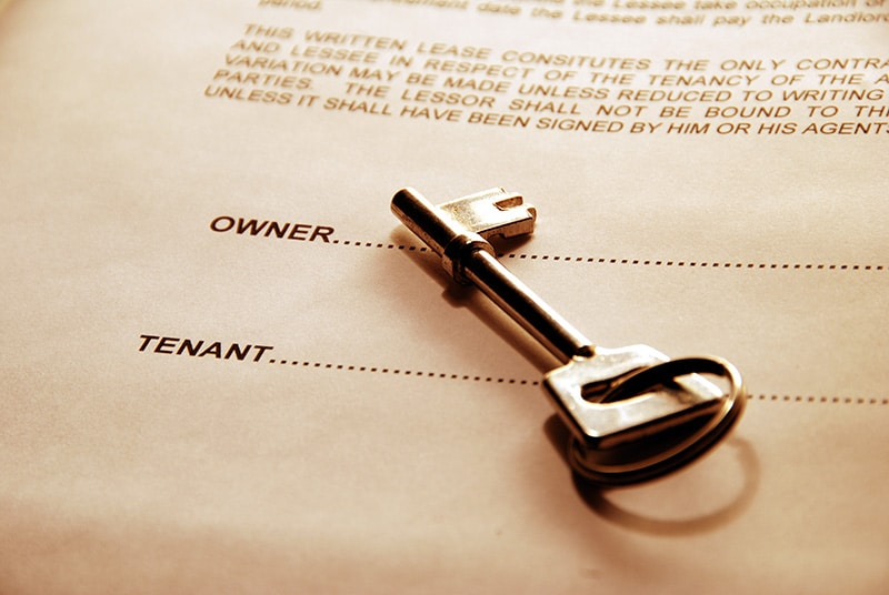 photo of a rental agreement to illustrate major changes to alabama's landlord-tenant laws